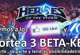 Se fan de Facebook y ten la posibilidad de ganar una Beta Key para Heroes of the Storm
