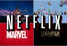 Netflix firma acuerdo de exclusividad para emitir contenido de Disney, Marvel, Lucasfilm y Pixar