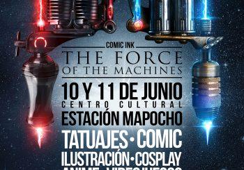 El Comic y los mejores tatuadores unicos en Comic-Ink Chile 2017