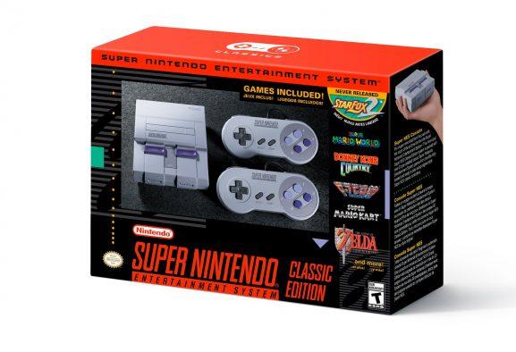 ¡Se confirma la mini SNES Classic Edition para el 29 de septiembre!