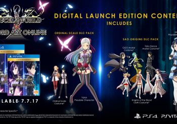 Accel World vs Sword Art Online, lanzamiento en Sudamérica